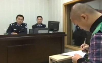 Chine : Les « aveux » d'un journaliste emprisonné font scandale