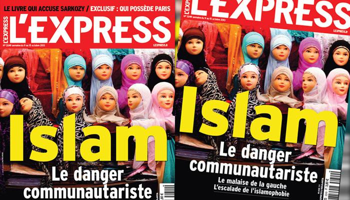 La Une choc de L'Express sur l'islam : « le danger communautariste »