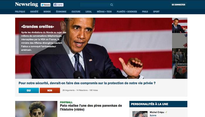 Frédéric Taddeï quitte Newsring.fr