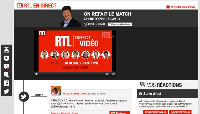 Médias : RTL passe à la « radio sociale »