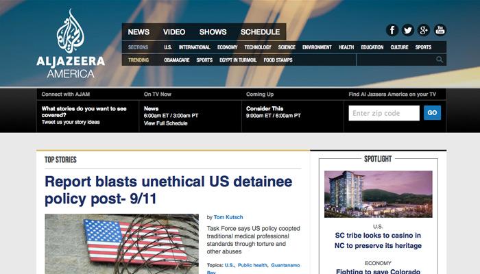 Mystère autour des audiences d'Al-Jazeera America