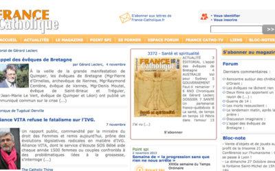France catholique a peur de son ombre