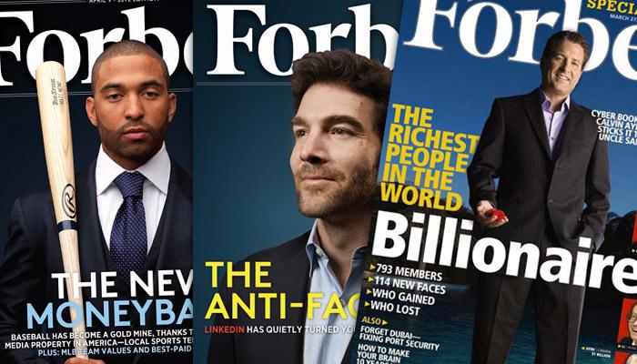 Forbes, « outil capitaliste » à vendre