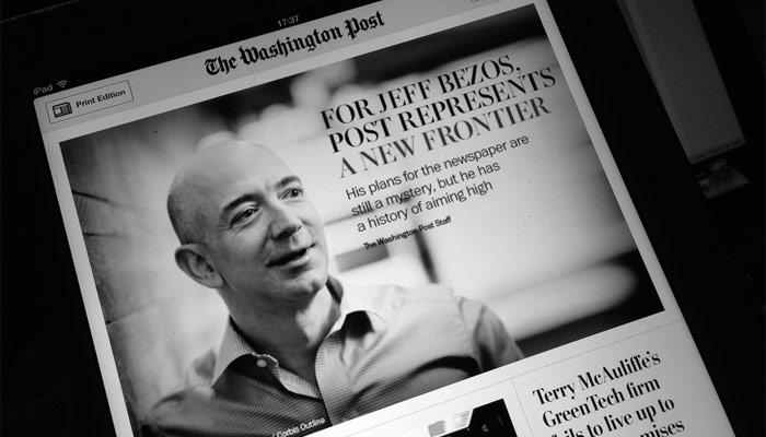 Le Washington Post vend son siège historique