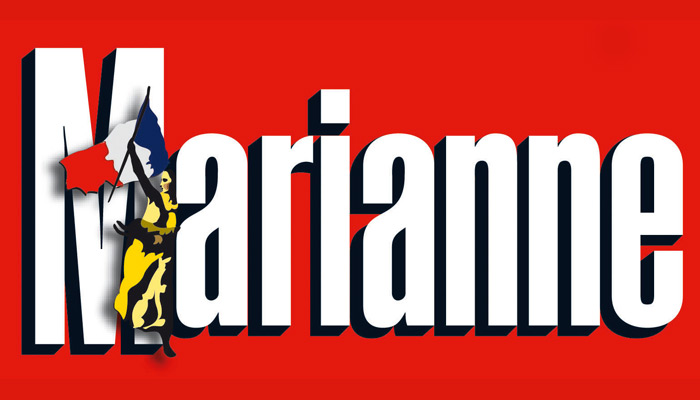 Courrier international : Marianne flingue Le Monde