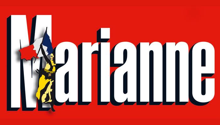 Courrier international : Marianne flingue Le Monde