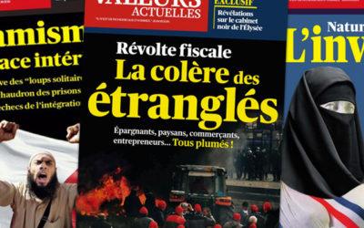 Cabinet noir : Valeurs Actuelles de nouveau attaqué