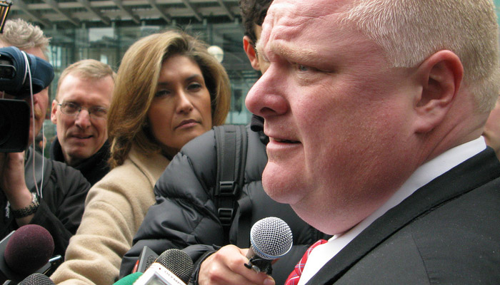Rob Ford va devenir commentateur sportif