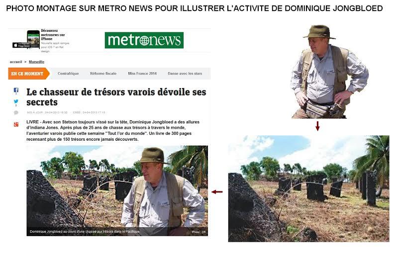 Photomontage : Metronews pris la main dans le sac