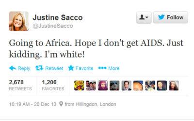 États-Unis : Curée médiatique après un tweet « raciste »