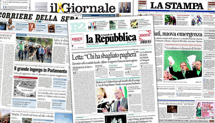 Le journalisme en Italie : un tour d'horizon