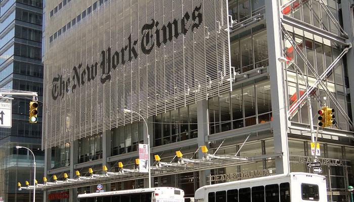 Un an et demi « d'avance » pour le New York Times pendant 102 ans
