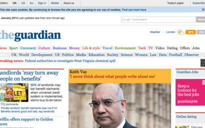 Le site internet du Guardian censuré en Chine