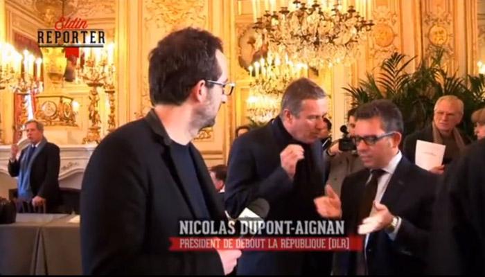 Nicolas Dupont Aignan à Haziza : « Vous êtes une merde intégrale ! »