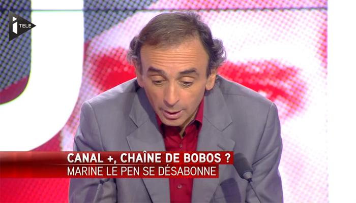 Quand Zemmour critique ouvertement Canal+, son employeur