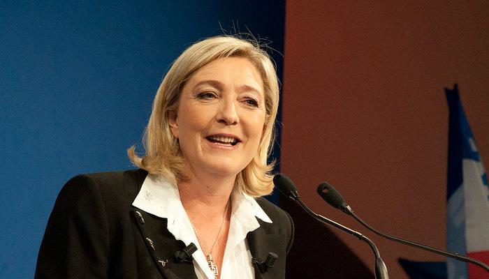 Marine Le Pen dénonce les faveurs accordées à Médiapart et L'Humanité