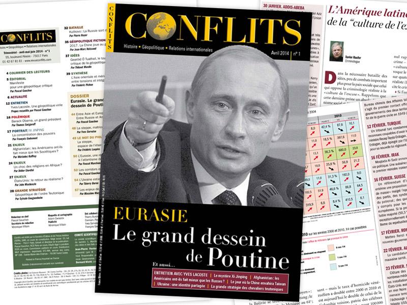 La revue Conflits en kiosque