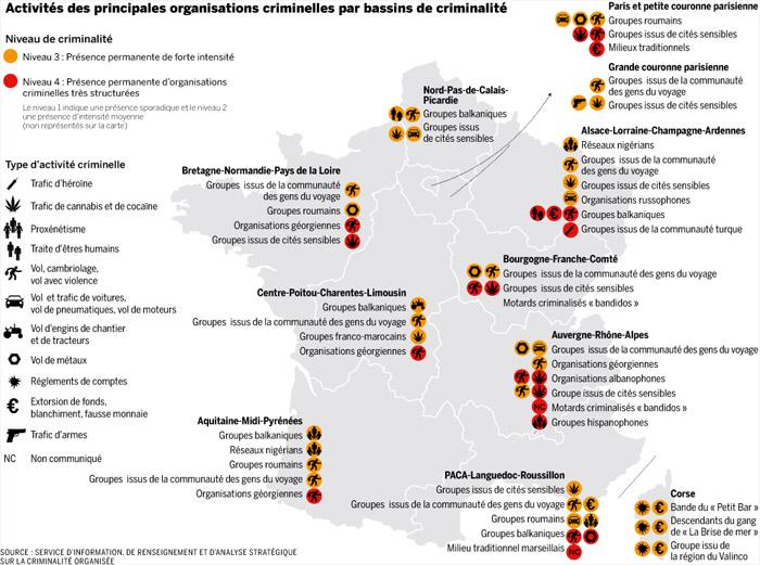 Quand Le Monde publiait une infographie sur l'origine des délinquants