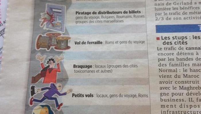 SOS Racisme attaque Le Progrès pour une publication « nauséabonde »