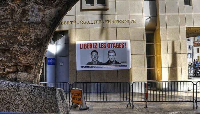 La France aurait versé 18 millions de dollars pour libérer ses journalistes