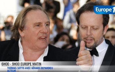 Depardieu à Thomas Sotto : « Tu veux que je t'allume?»