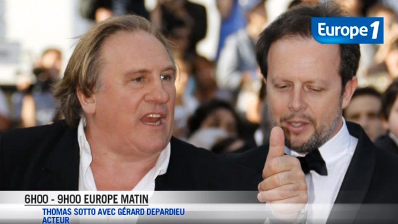 Depardieu à Thomas Sotto : « Tu veux que je t