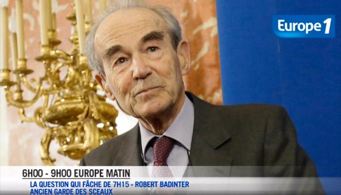 FN/Antisémitisme : Quand Europe 1 parle à la place de Badinter