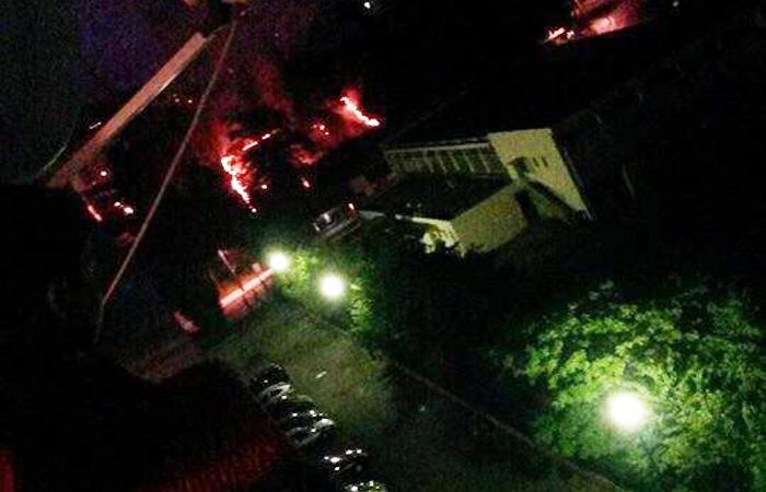 Église de la Duchère à Lyon, Le Progrès confirme la tentative d'incendie