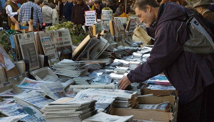 Dossier - Après le séisme : analyse de la mutation du discours médiatique au lendemain des élections européennes