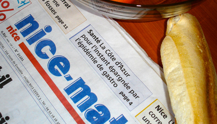 Flash : Nice-Matin : plainte contre Hersant médias