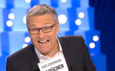 Ruquier : « L'engrenage médiatique rend Zemmour fou»
