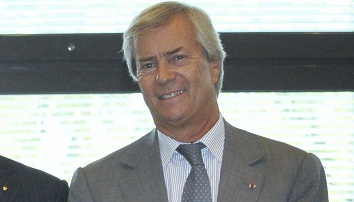 Vincent Bolloré premier actionnaire de Vivendi