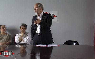 Laurent Joffrin par défaut à Libération