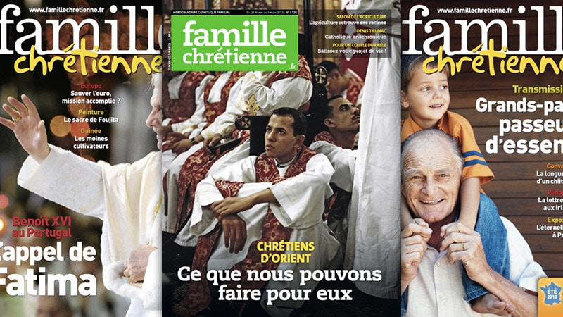 Flash info : Famille Chrétienne change de peau