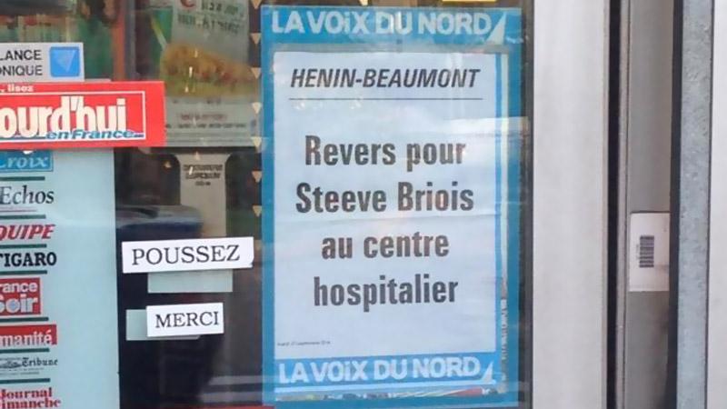La Voix du Nord vs Steeve Briois