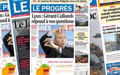 Flash info : Xavier Antoyé (Progrès de Lyon) devient rédac' chef de 3 quotidiens