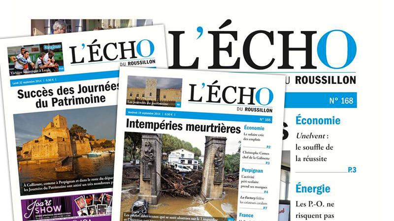 Flash info : L'Écho du Roussillon ne répond plus