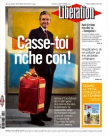 Libération aura la tâche de faire oublier sa couverture « Casse-toi riche con ! »