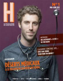 StreetPress est éditeur de H, le magazine des jeunes médecins