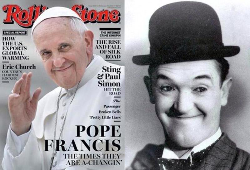 Le secret de la popularité du Pape dévoilé par la perfide Albion