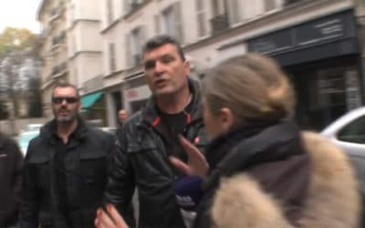 Une journaliste de France 5 bousculée par le service d'ordre de laCGT