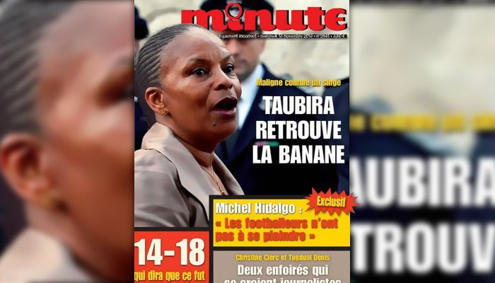 Minute/Taubira : Molitor condamné