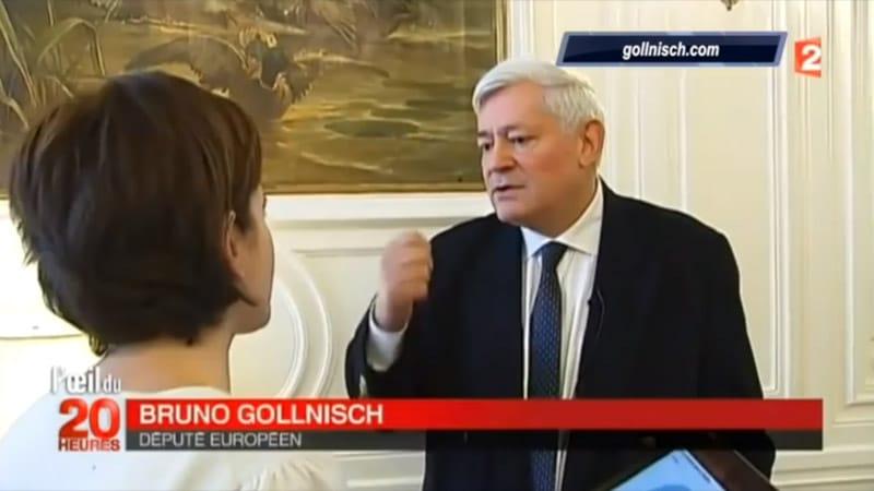 Bruno Gollnisch accuse France 2 de manipulation