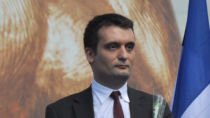 Florian Philippot va poursuivre le « torchon » Closer