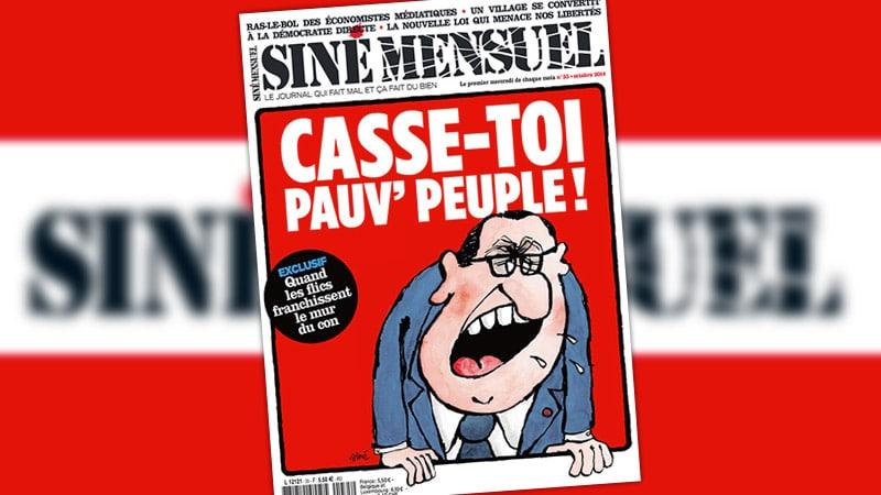 Siné Hebdo récolte près de 160 000 euros