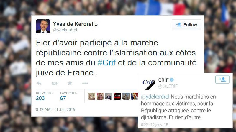 Quand Yves de Kerdrel se fait remballer par le CRIF