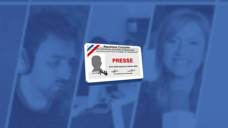 Cartes de presse : les jeunes journalistes continuent à fuir le métier