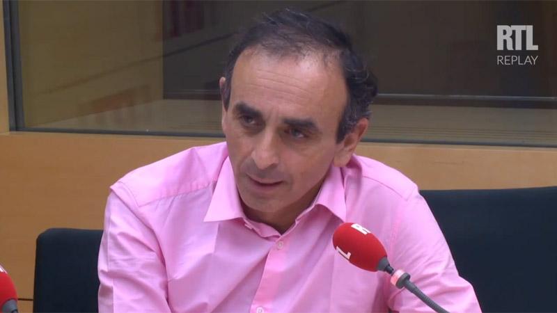 RTL juge « bien fondé » d'avoir maintenu Zemmour à l'antenne