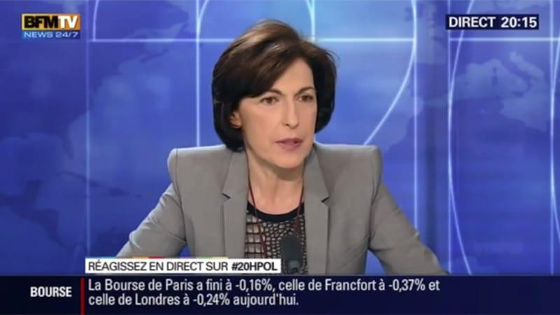 Ruth Elkrief recadre son collègue sur la judéophilie de Valls