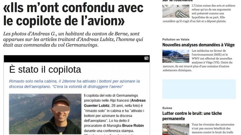 A320 : Quand la presse mondiale confond le pilote avec un cuisinier suisse